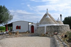 renovated trullo with extension for sale puglia
