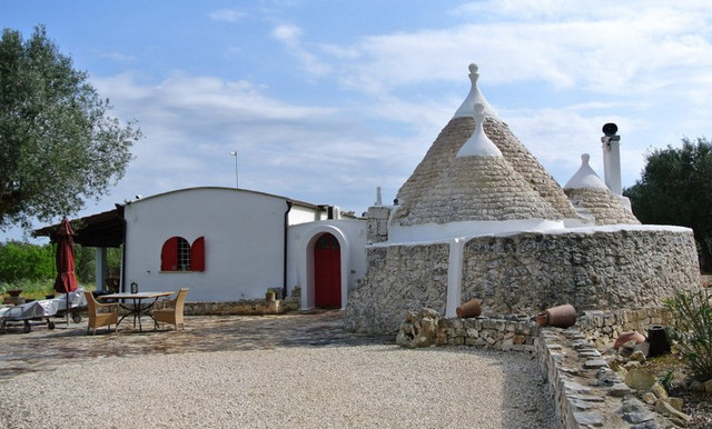 renovated trullo with extension for sale puglia