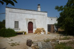 traditional casale in oria with olive grove for sale