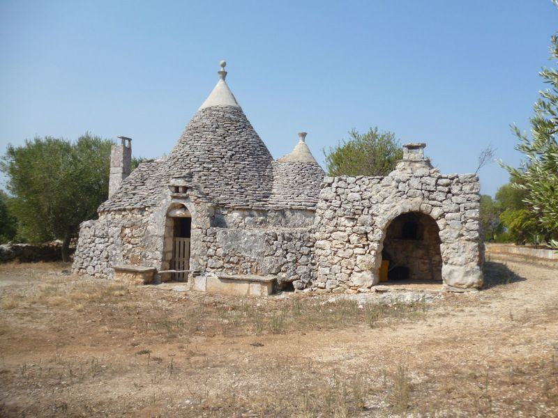 Trulli property for sale in Puglia Italy, olive grove