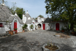 Trulli complex for sale in Puglia, Italy, Trulli Kasia