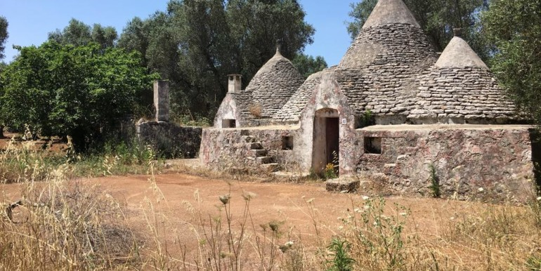 Trulli complex for sale Puglia, Francavilla Fontana with olive grove