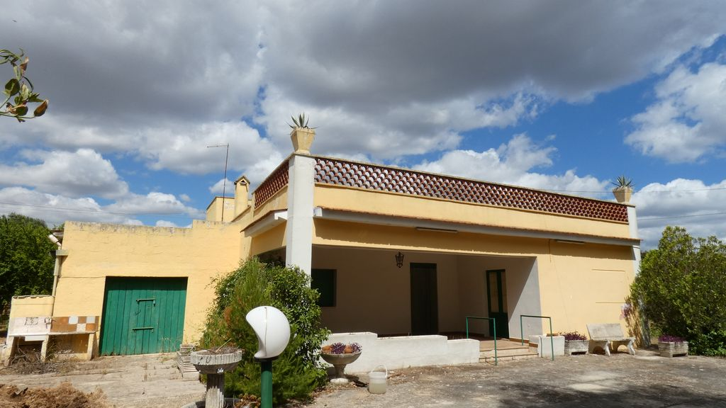Villa for sale in the countryside, with appurenant land