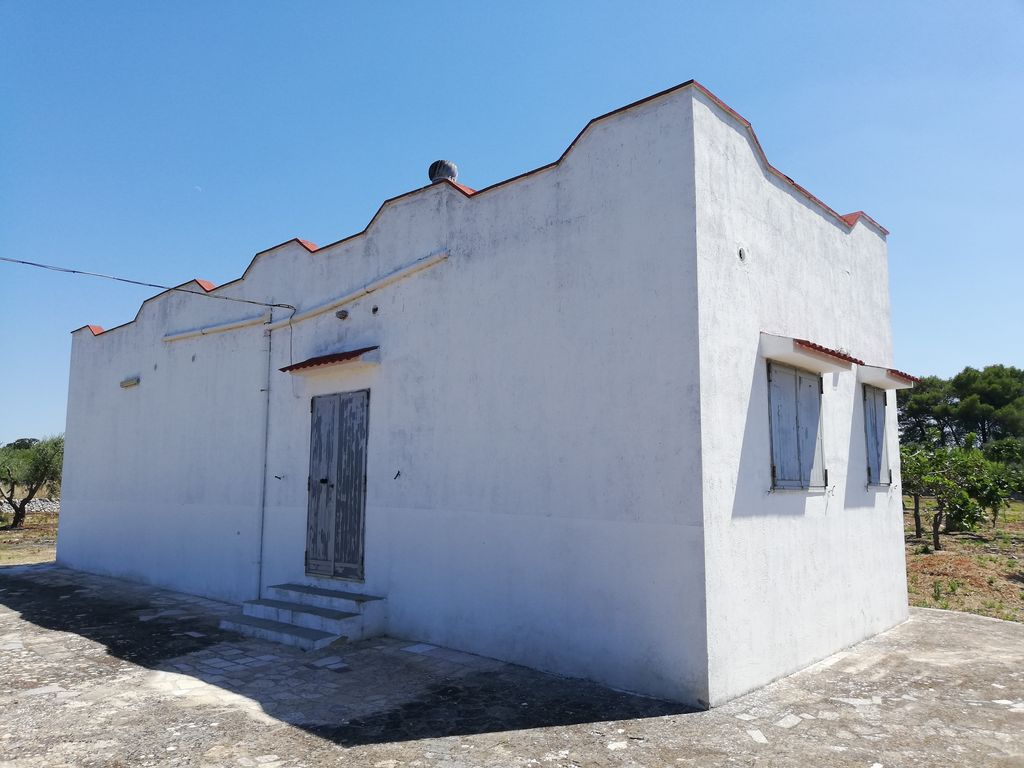 Country house for sale with olive grove, good conditions