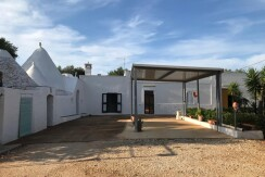 Trulli complex with lamia for sale in Puglia, Ceglie Messapica, Italy