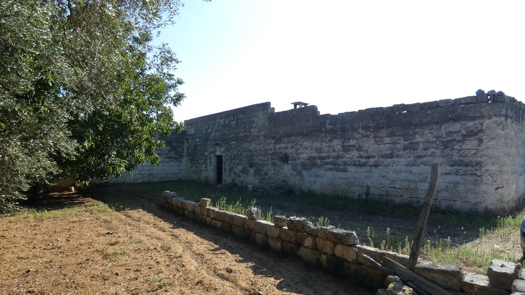 Traditional building for sale in Puglia, with olive grove