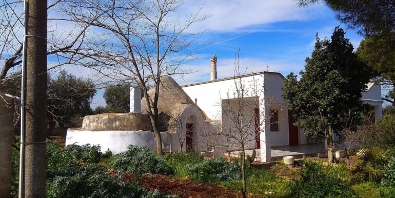 Villa with trullo for sale in Martina Franca, Puglia, Italy
