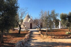 Trulli complex with lamia for sale Ceglie Messapica, Puglia, olive grove