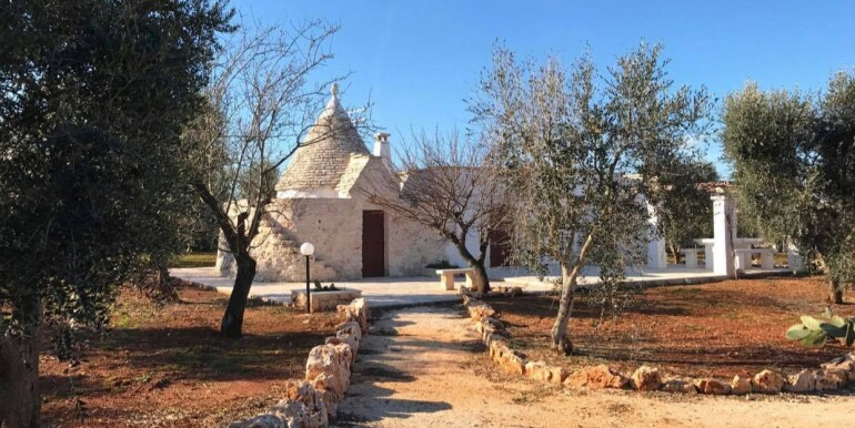 Trulli complex with lamia for sale Ceglie Messapica, Puglia, olive grove