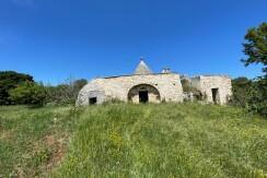 Trulli complex with lamia for sale Puglia, Ceglie Messapica