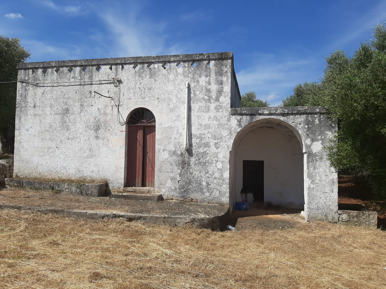 Lamia with trullo for sale, with olive grove