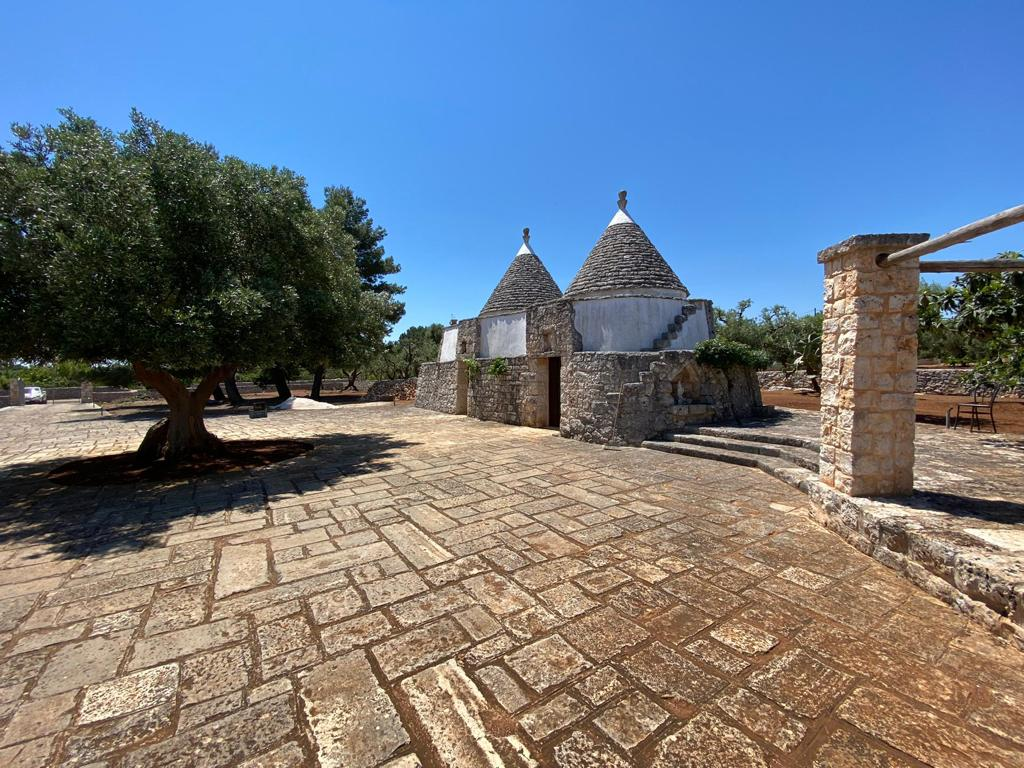 Trulli complex for sale with plot of land