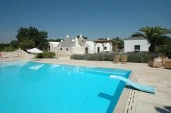 Trulli complex for sale Martina Franca, Puglia, swimming pool